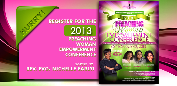Register for the 2011 Preaching Woman Empowerment Conference